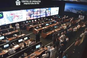 Rio de Janiero's control room