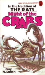 Paperback book cover of Guy N. Smith's Night of the Crabs