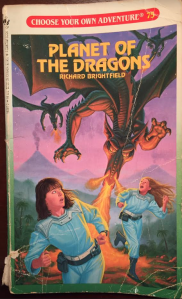 Choose Your Own Adventure book #75